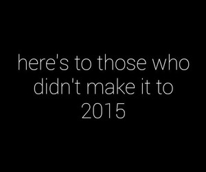 2015, sad, and new year image
