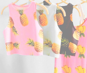 pastel, pineapple, and look image