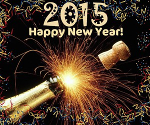 happy new year, new year, and 2015 image
