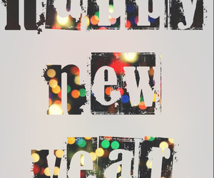 beautiful, bye bye, and happy new year image