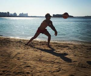 mario gotze, beach, and germany image