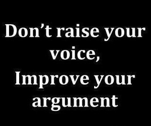 quotes, argument, and improve image