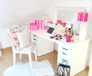 girly, mirror, and room image