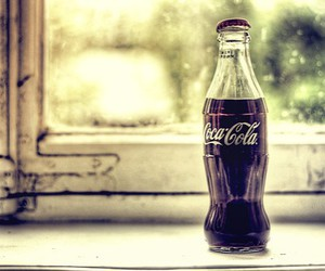 coca-cola, drink, and photography image