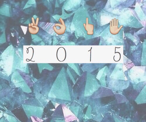 2015, new year, and happy image