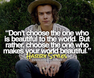 quote, Harry Styles, and one direction image