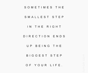 direction, life, and quote image