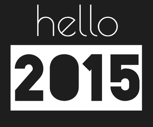 happy, hello, and year image