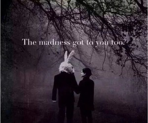 madness, dark, and grunge image