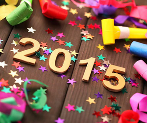 2015, happy, and new year image