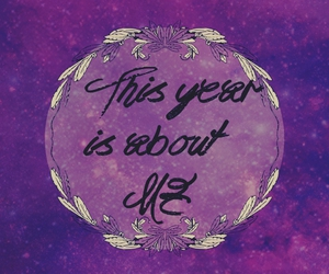 about me, me, and new year image