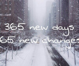 changes, happy new year, and new year image