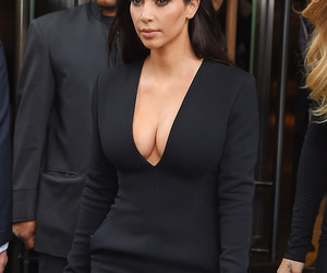 beauty, kimkardashian, and fashion image