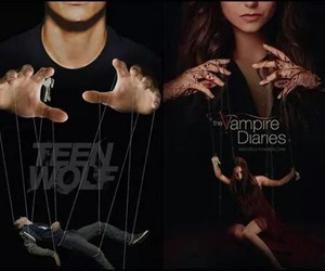 teen wolf, the vampire diaries, and tvd image