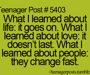 life, teenager post, and quote image