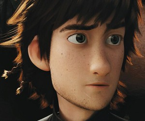 hiccup, eyes, and how to train your dragon image