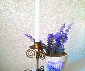 antique, candle, and art image