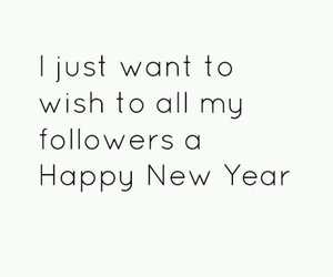 2015, followers, and happy new year image