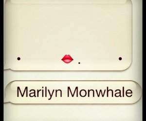 whale, Marilyn Monroe, and funny image