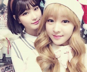 selca, laboum, and yujeong image
