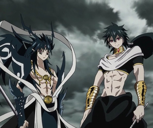 magi, anime, and judal image