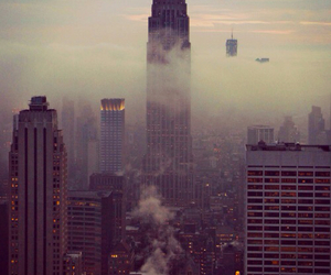 empire state building, new york, and ny image