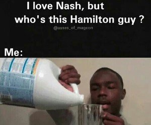 funny and hamilton nash grier image