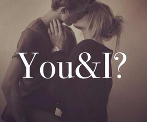 couple, love, and you and i image