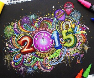 2015, art, and drawing image
