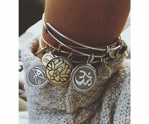 bracelet and hippie image