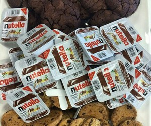 nutella, food, and love image