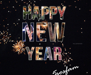 greetings, NYE, and happy new year image