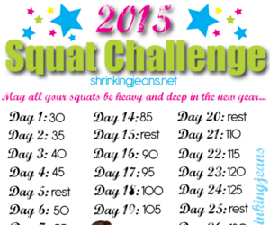 New Year, New You 31-Day Squat and Push-up Challenge