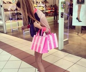 girl, shopping, and Victoria's Secret image