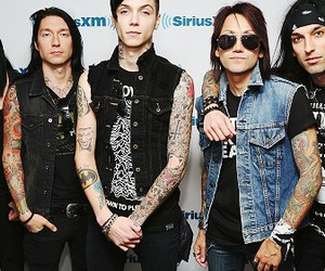black veil brides, jinxx, and andy biersack image