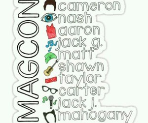 magcon and nash image