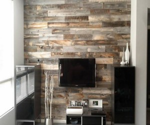 pallets wall, pallets wall decor, and pallets wall works image