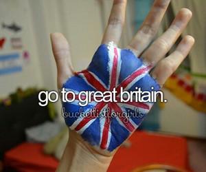 bucketlist, girly, and Great Britain image