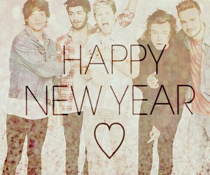 one direction, happy new year, and 2015 image