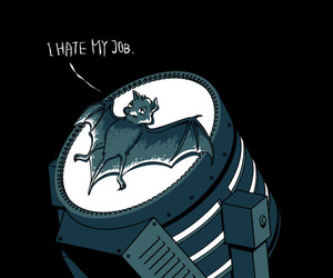 batman, funny, and bat image