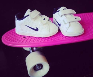 nike, baby, and pink image