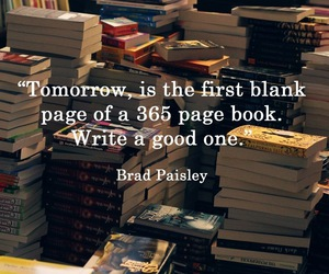 book, quotes, and new year image