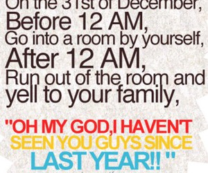 funny and new years image