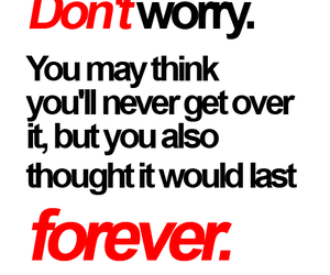forever, words, and worry image