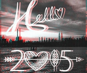 hello, hope, and new year image