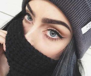 black, girl, and winter image
