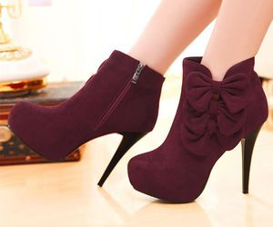 ankle boots, fashion, and cute image