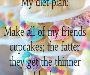 diet, funny, and plan image