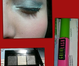 eyes, makeup, and Silvester image