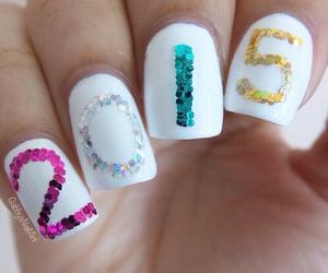 nails, 2015, and nail art image